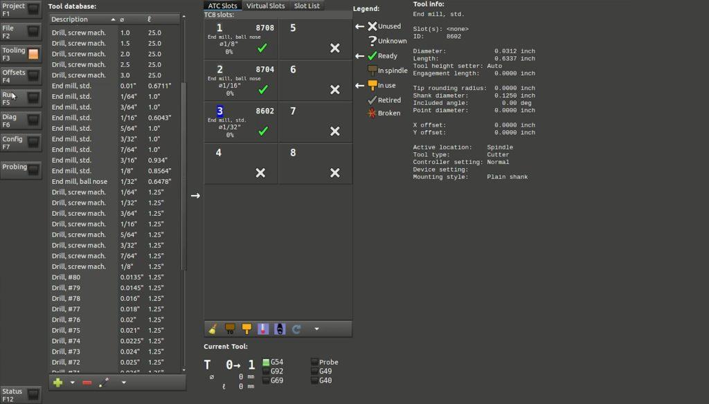 motus toolchange menu screencap